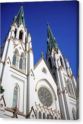Canvas Print featuring the photograph Southern Church by Michael McKenzie