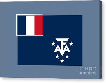 Southern France Flag Canvas Print by Frederick Holiday