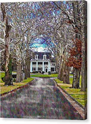 Southern Gothic Canvas Print by Bill Cannon