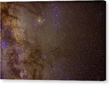 Southern Milky Way Canvas Print