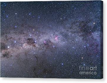 Southern Milky Way From Vela Canvas Print