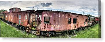 Southern Railroad Canvas Print by Fred Baird