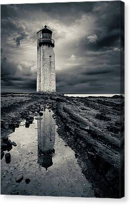 Southerness Lighthouse Canvas Print