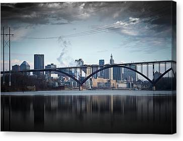 Southside And The High Bridge Canvas Print