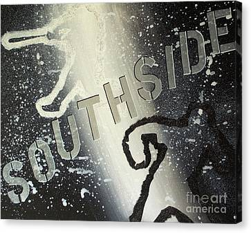 Southside Sox Canvas Print by Melissa Goodrich