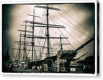 South Street Seaport Canvas Print by Jessica Jenney