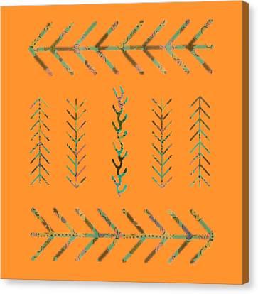 Tangerines Canvas Print - Southwest Spring by Bonnie Bruno