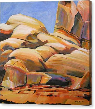 Southwest Stillness 3 Canvas Print by Melody Cleary