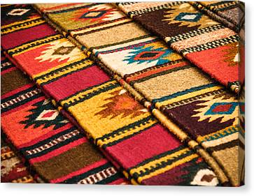 Southwest Weavers Canvas Print by Steven Bateson