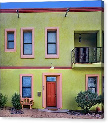 Southwestern - Architecture - Barrio Viejo Canvas Print by Nikolyn McDonald
