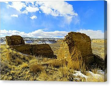 Southwestern Ruins Canvas Print