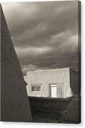 Canvas Print featuring the photograph Southwestern Skies by Heidi Hermes