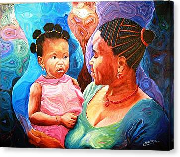 Sowing And Reaping Canvas Print by Bankole Abe