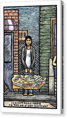 Soy Boricua Canvas Print by Ricardo Levins Morales