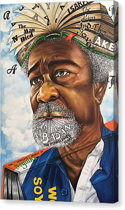 Soyinka An African Literary Icon Canvas Print