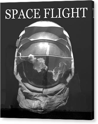 Canvas Print featuring the photograph Space Flight by David Lee Thompson