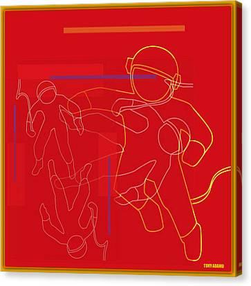 spACE HOP Canvas Print by Tony Adamo