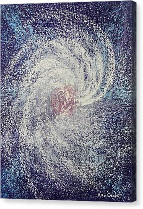 Space In Motion Canvas Print by Richard Van Order