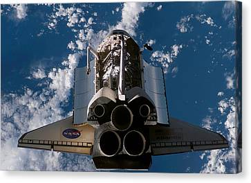 Atlantis Canvas Print - Space Mission Space Shuttle Space Shuttle Atlantis                by F S