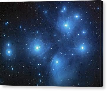 Space Canvas Print by New York Prints