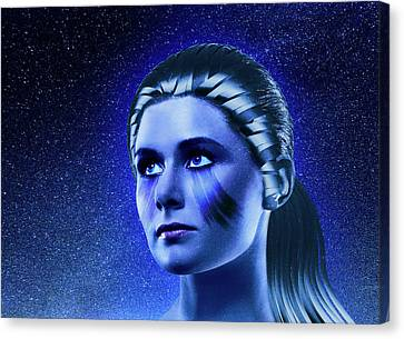 Space Odyssey Canvas Print by Scott Meyer