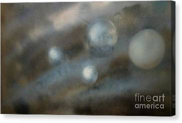 Outer Space Canvas Print - Space One by Stacy C Bottoms