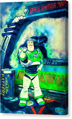Space Ranger Canvas Print by Pamela Williams