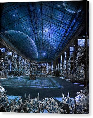 Canvas Print featuring the photograph Space Solarium by John Rivera