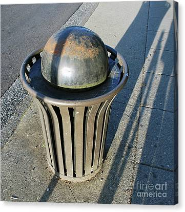 Canvas Print featuring the photograph Space Trash by Bill Thomson