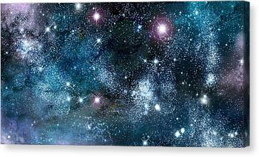 Space003 Canvas Print by Svetlana Sewell