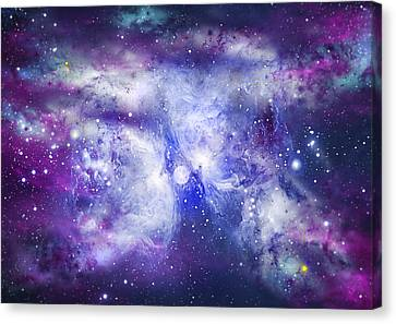 Space009 Canvas Print by Svetlana Sewell