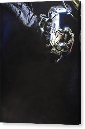 Spacewalk 1  Canvas Print by Simon Kregar