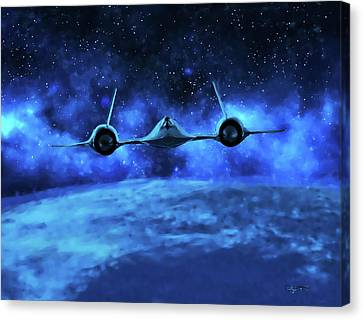 Spaceward Canvas Print