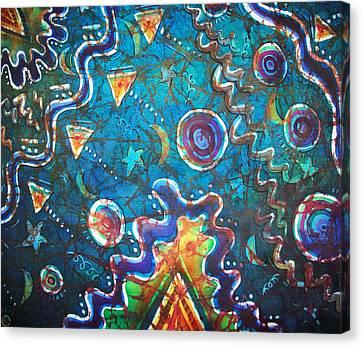 Spacious Skies Canvas Print by Sue Duda