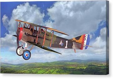 Spad Xiii Canvas Print by Dale Jackson