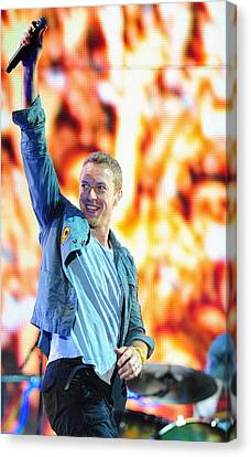 Coldplay4 Canvas Print