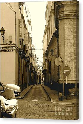 Spain Streets Canvas Print by Carly Athan