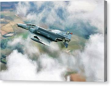 Spang Wild Weasel Canvas Print by Peter Chilelli