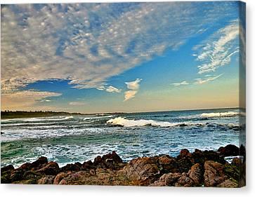 Spanish Bay Sunrise Canvas Print by Larry Darnell