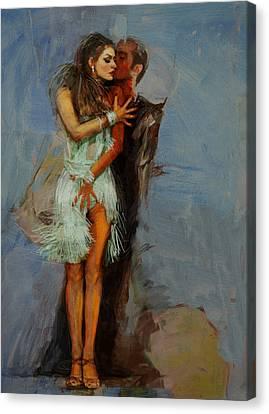 Senorita Canvas Print - Spanish Culture 13 by Corporate Art Task Force