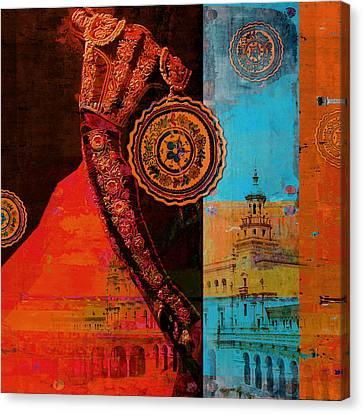 Senorita Canvas Print - Spanish Culture 21b by Corporate Art Task Force