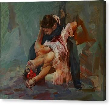 Senorita Canvas Print - Spanish Culture 24 by Corporate Art Task Force