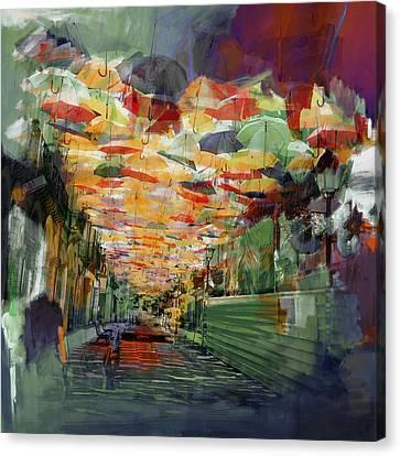 Senorita Canvas Print - Spanish Culture 32b by Corporate Art Task Force