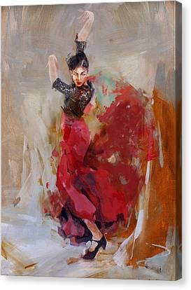 Senorita Canvas Print - Spanish Culture 37b by Corporate Art Task Force