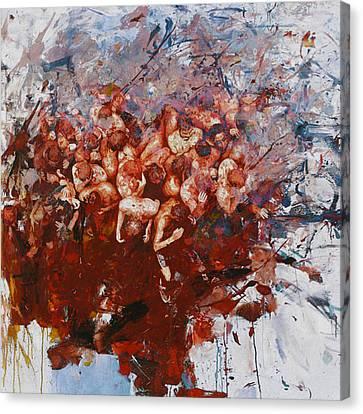 Senorita Canvas Print - Spanish Culture 3b by Corporate Art Task Force
