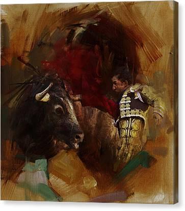 Senorita Canvas Print - Spanish Culture 7 by Corporate Art Task Force