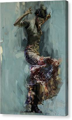 Ballerinas Canvas Print - Spanish Culture 9 by Corporate Art Task Force