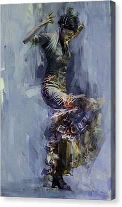 Senorita Canvas Print - Spanish Culture 9b  by Corporate Art Task Force