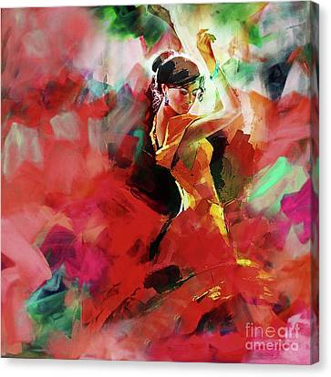 Spanish Dance Canvas Print