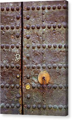 Spanish Door Canvas Print by Carlos Caetano